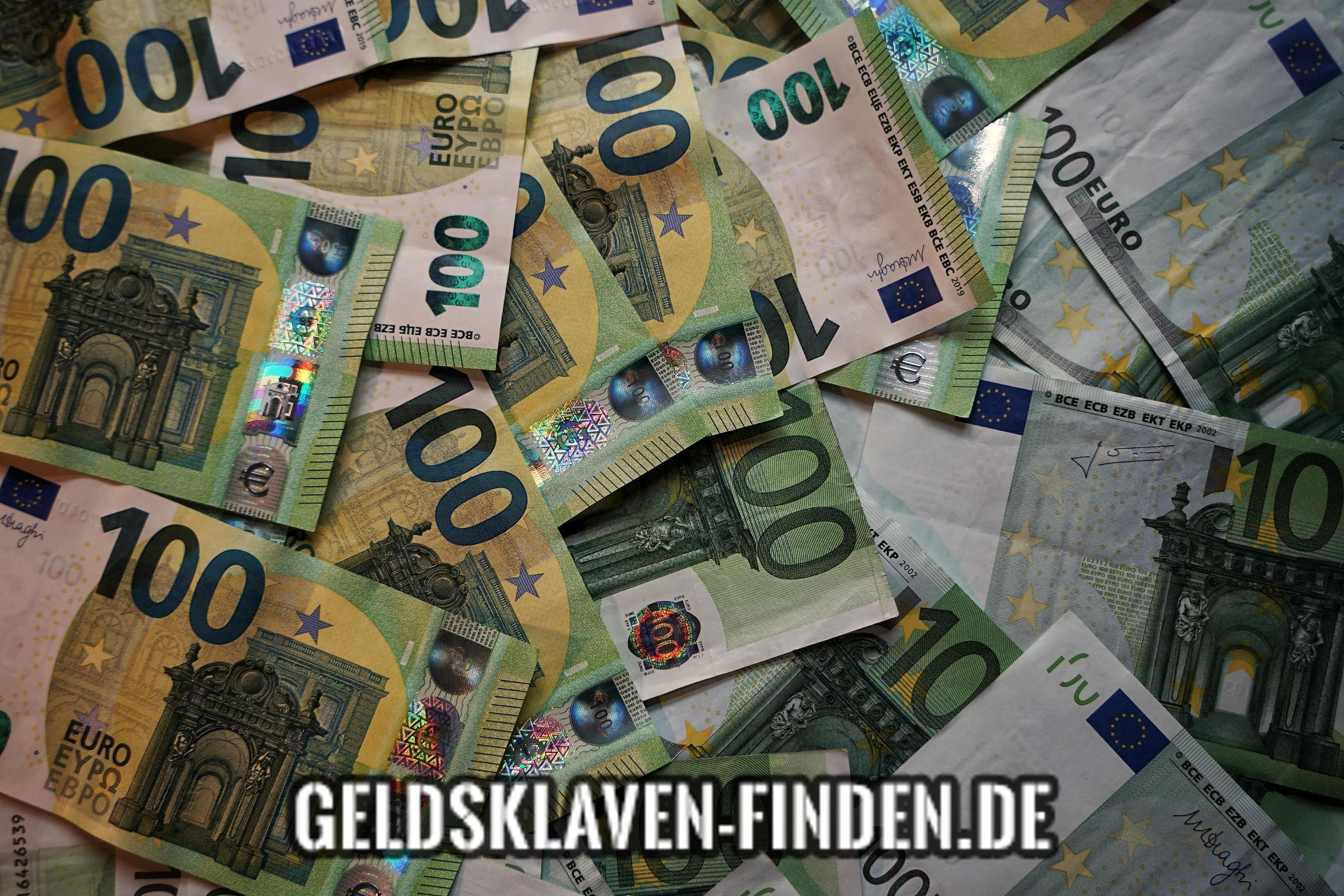 Geldsklave finden | FINANZSPRITZE nötig? - Geldsklaven finden