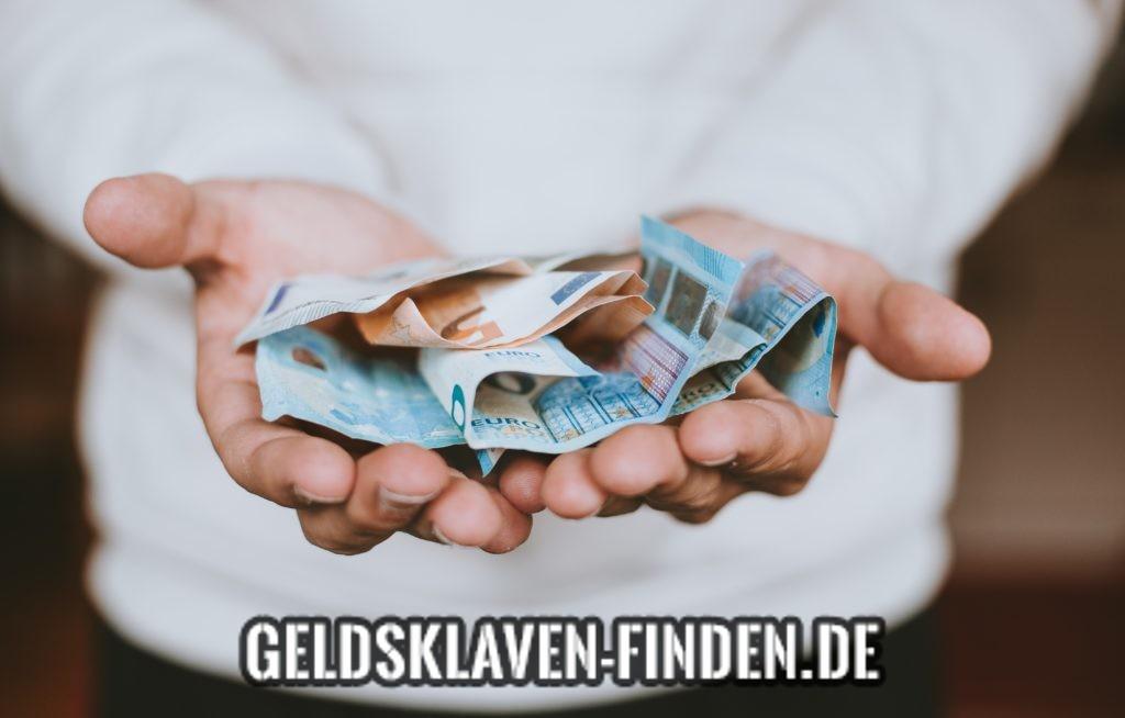 Geld zu verschenken